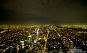 Travel photography:New York City by night, USA