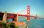 Travel photography:San Francisco Golden Gate Bridge, USA