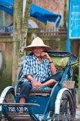 Travel photography:Hue ricksha driver , Vietnam