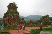 Travel photography:Champa temple ruins in My Son, Vietnam