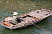 Travel photography:Small boat Halong Bay , Vietnam