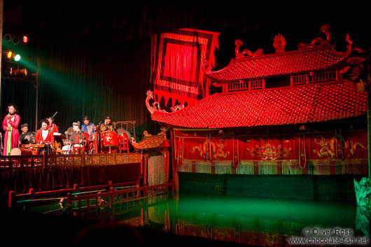 Hanoi´s famous Water Puppet Theatre