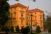 Travel photography:Presidential Palace in Hanoi, Vietnam