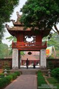 Travel photography:Temple of Literature in Hanoi, Vietnam