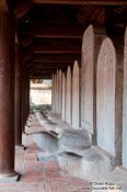 Travel photography:Doctor´s Stelae at the Temple of Literature in Hanoi, Vietnam
