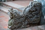 Travel photography:Stone sculpture at Hanoi´s Temple of Literature, Vietnam