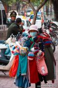 Travel photography:Walking clothes boutique in Hanoi, Vietnam