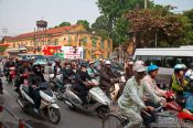 Travel photography:Hanoi traffic , Vietnam