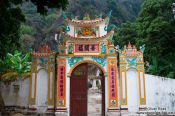 Travel photography:Ban Long pagoda near Tam Coc, Vietnam