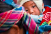 Travel photography:Hmong mother and child in Sapa, Vietnam