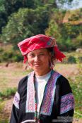 Travel photography:Hmong woman near Sapa , Vietnam