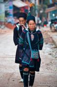 Travel photography:Hmong women in Sapa, Vietnam