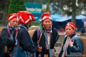 Travel photography:Red Dzao women in Sapa, Vietnam
