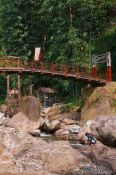 Travel photography:Sapa bridge near Cat Cat village , Vietnam