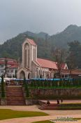 Travel photography:Sapa church , Vietnam