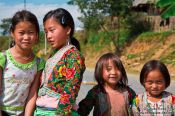 Travel photography:Kids near Sapa, Vietnam