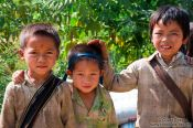 Travel photography:Boys near Sapa, Vietnam