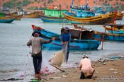 Travel photography:Fishermen at Mui Ne , Vietnam