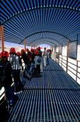 Travel photography:Visitors to the Chuquicamata copper mine, Chile