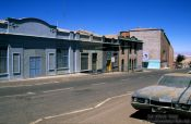 Travel photography:Chuquicamata main street, Chile