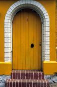 Travel photography:Door in Valparaiso, Chile